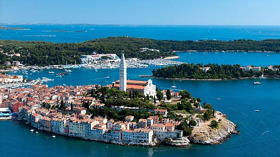 The city of Rovinj
